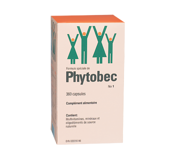 Image du produit Phytobec - Complément alimentaire, 360 unités