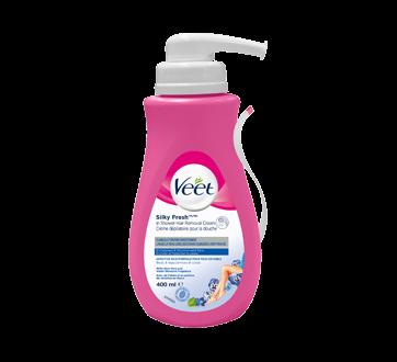 Crème dépilatoire pour la douche Silky Fresh jambes et corps, peau sensible, 400 ml
