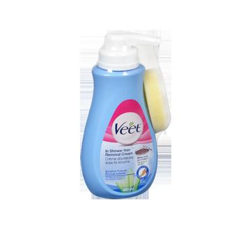 Image 2 du produit Veet - Crème dépilatoire pour la douche Silky Fresh jambes et corps, peau sensible, 400 ml