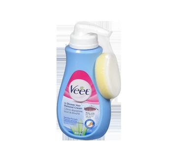Cr me d pilatoire sous la douche formule sensible 400 ml - Veet creme depilatoire sous la douche ...