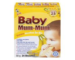 Image du produit Want-Want - Hot-kid Baby Mum-Mum, 50 g, banane