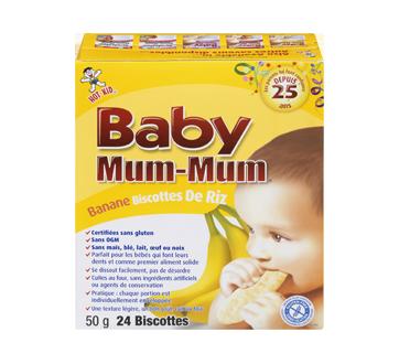 Hot-kid Baby Mum-Mum, 50 g, banane