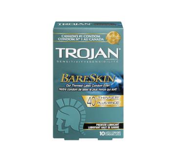 Image 3 du produit Trojan - Bareskin condoms lubrifiés, 10 unités