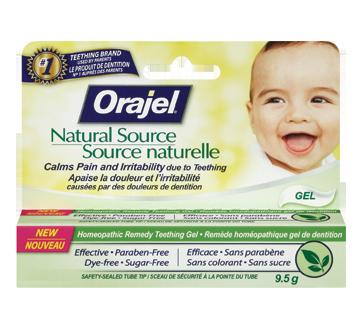 Image du produit Orajel - Source naturelle, gel homéopathique , 9,5 g