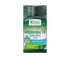 Image du produit Adrien Gagnon - Mélatonine extra-fort 10 mg, 90 unités