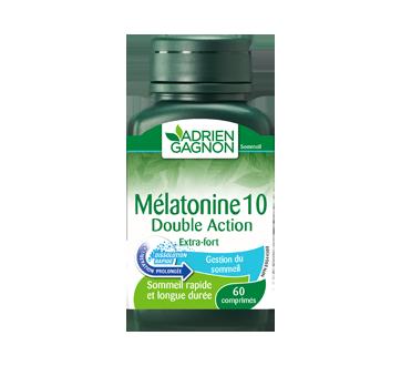 Image 2 du produit Adrien Gagnon - Mélatonine double action extra-fort, 60 unités