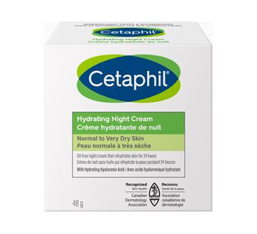 Image du produit Cetaphil - Crème hydratante de nuit pour le visage, 48 g