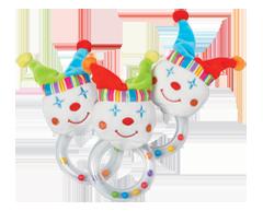 Image du produit PJC Bébé - Hochet vibrant, 1 unité, clown