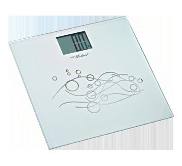 Pèse-personne électronique en verre