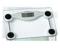 Image du produit Health Select - Pèse-personne électronique en verre, 17,5 x 7,5 x 20 cm