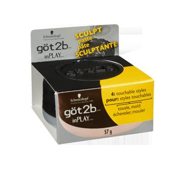 Image 2 du produit Göt2b - Inplay pâte sculptante, 57 g