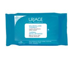 Image du produit Uriage - Lingettes démaquillantes eau micellaire thermale, 25 unités
