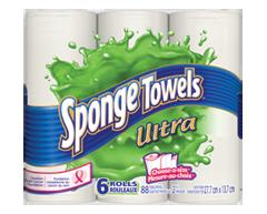 Image du produit Sponge Towels Ultra - Essuie-tout, 6 unités