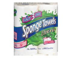 Image du produit Sponge Towels Ultra - Essuie-tout, 2 unités, rouleaux géants