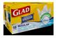 Vignette 1 du produit Glad - Petits sacs à ordures blancs avec senteur fraîche et propre de Febreze, 48 unités