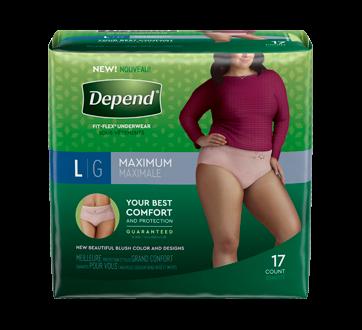 Fit-Flex sous-vêtements pour femmes, 17 unités, grand
