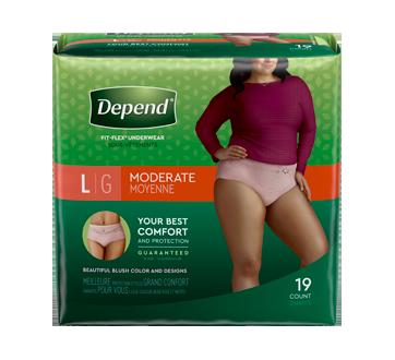 Fit-Flex sous-vêtements pour femmes, 19 unités, moyen