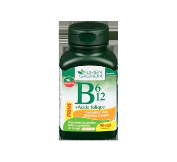 Image 1 du produit Adrien Gagnon - B6, B12 + acide folique, 90 unités