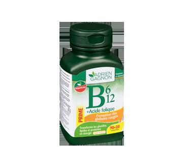 Image 2 du produit Adrien Gagnon - B6, B12 + acide folique, 90 unités