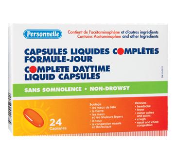 Image du produit Personnelle - Capsules liquides complètes formule jour, 24 unités