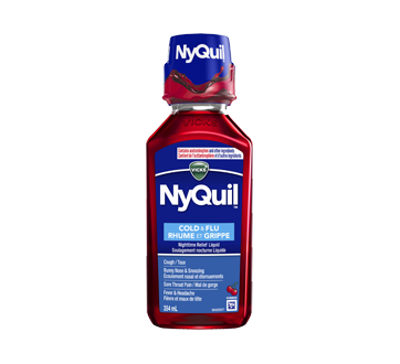 nyquil rhume et grippe soulagement nocturne 354 ml cerise vicks