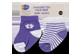 Vignette du produit PJC Bébé - Chaussettes pour bébé, 2 paires, 0 à 6 mois; 6 à 12 mois;