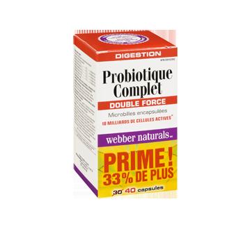Image 2 du produit Webber Naturals - Webber Naturals Probiotique 10 milliards, capsules végétariennes, 30 unités