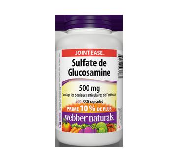 Image du produit Webber Naturals - Sulfate de glucosamine 500 mg, 300 unités