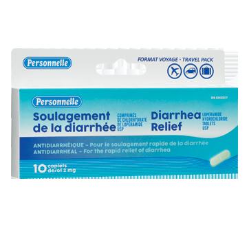 Image du produit Personnelle - Soulagement de la diarrhée, 10 unités