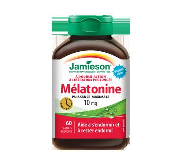 Image du produit Jamieson - Melatonine-10 mg dissolution rapide  liberation prolonge comprimés, 60 unités