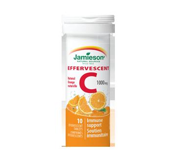 Image du produit Jamieson - Vitamine C effervescent 1,000 mg, orange, 10 unités