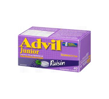 Image 1 du produit Advil - Advil Junior comprimé à croquer, 40 unités, raisin
