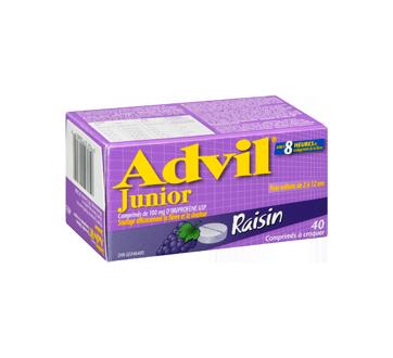 Image 2 du produit Advil - Advil Junior comprimé à croquer, 40 unités, raisin