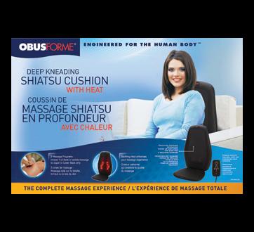 Image du produit ObusForme - Coussin de massage shiatsu en profondeur avec chaleur , 1 unité