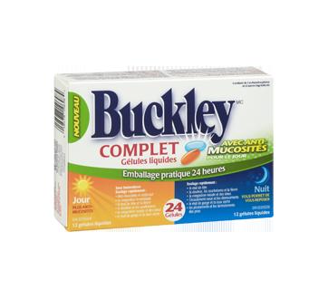Image 2 du produit Buckley - Complet avec anti-mucosité formules jour et nuit, 24 unités