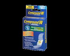 Image du produit Compound W - Compound W bandes invisibles pour usage en une étape, 14 unités