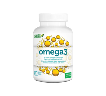 Image du produit Genuine Health - Omega3, 120 unités