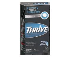 Image du produit Thrive - Pastilles à la nicotine régulier 1 mg, 36 unités, menthe poivrée glaciale