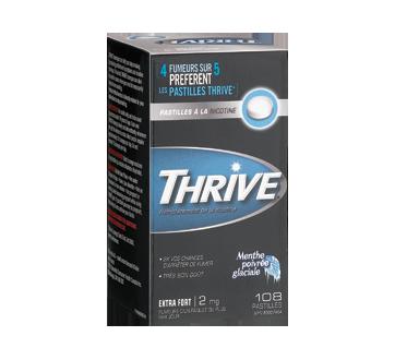 Image 1 du produit Thrive - Pastilles à la nicotine régulier 2 mg, 108 unités, menthe poivrée glaciale