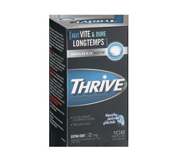 Image 2 du produit Thrive - Pastilles à la nicotine régulier 2 mg, 108 unités, menthe poivrée glaciale