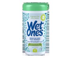 Image du produit Wet Ones - Lingettes pour peau sensible , 40 serviettes