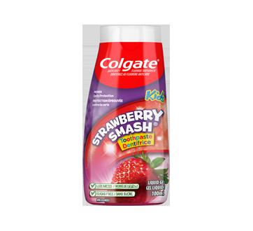 Dentifrice et rince-bouche 2 en 1 pour enfants, 100 ml, fraise