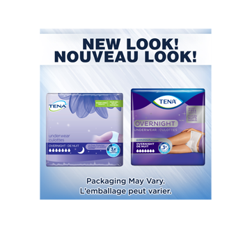 Image 3 du produit Tena - Overnight culottes pour incontinence absorption de nuit, 10 unités, très grand