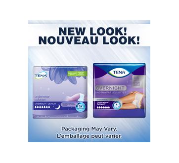 Image 3 du produit Tena - Overnight culottes pour incontinence absorption de nuit, 12 unités, moyen
