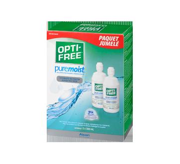 Image 1 du produit Opti-Free - PureMoist solution pour lentilles cornéennes, 2 x 300 ml