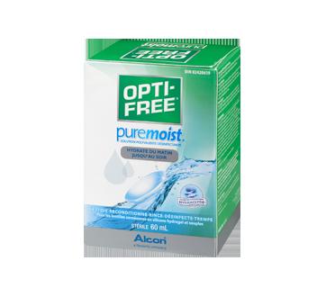 Image 1 du produit Opti-Free - PureMoist solution pour lentilles cornéennes, 60 ml