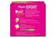 Vignette 2 du produit Playtex - Tampons Playtex Sport en plastique, 36 unités