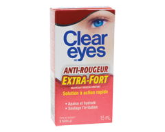 Image du produit Clear Eyes - Clear Eyes anti-rougeur extra-fort, 15 ml