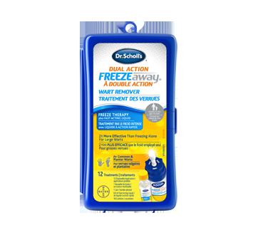 Image 1 du produit Dr. Scholl's - Freeze Away à double action traitement des verrues vulgaires et plantaires, 1 unité