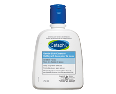 Image du produit Cetaphil - Nettoyant doux pour la peau, 250 ml, Sans parfum